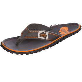 GUMBIES Islander Canvas Thongs slate